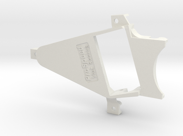 PSNS00104 motor mount for NSR chassis (Flat6) OF0 in White Natural Versatile Plastic