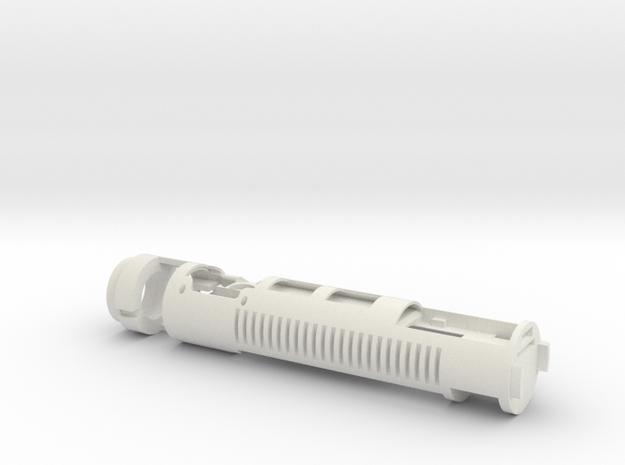 WJ - Spectre 6 - Main Chassis (Neopixel, Proffie)  in White Natural Versatile Plastic