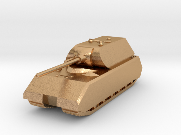 Tank - Panzer VIII Maus - size Small in Natural Bronze