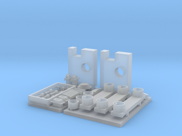 1:160 SU46 Parts for body  in Smooth Fine Detail Plastic