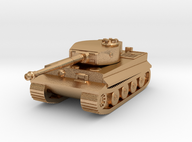 Tank - Tiger - size Small  in Natural Bronze