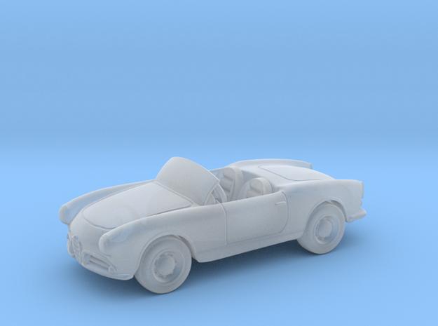 Alfa_Romeo_Giulietta  1960 1:87 HO in Smooth Fine Detail Plastic