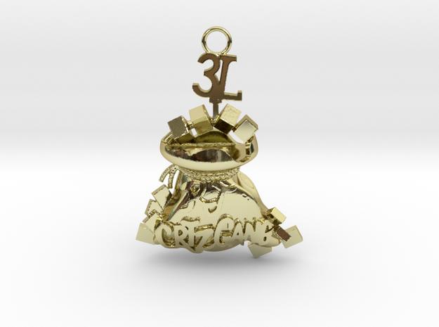 3L RJ CRTZ GANG Jewelry in 18K Yellow Gold