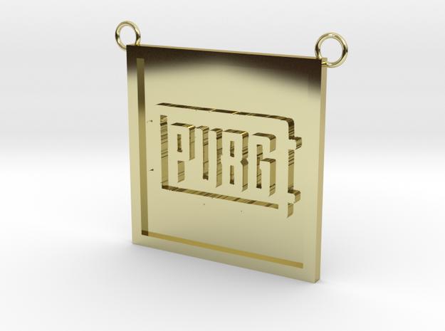 PUBG in 18K Yellow Gold