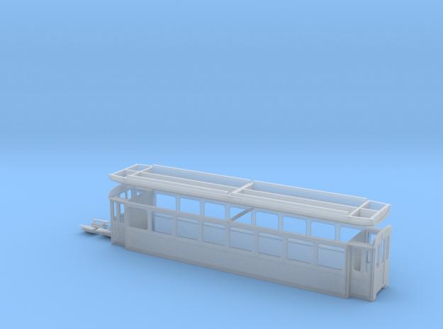 SGA B 81-83 in Smooth Fine Detail Plastic: 1:120 - TT