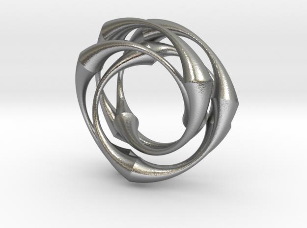 Vortex in Raw Silver