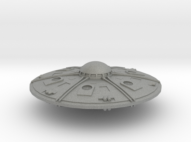 Newest Saucer in Gray PA12