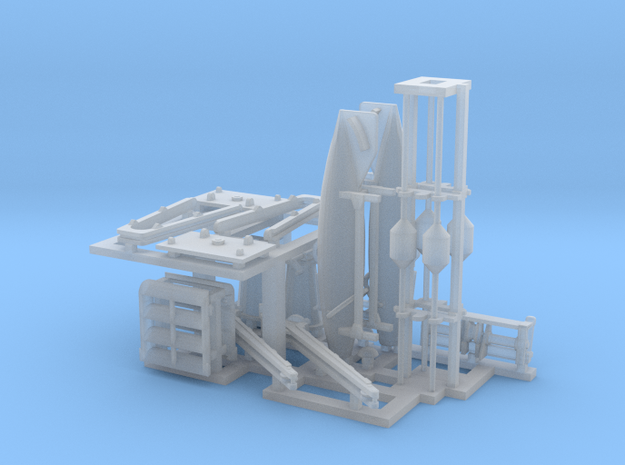 144th_Scale_Canadian_Mine_Sweeping_Gear in Smooth Fine Detail Plastic