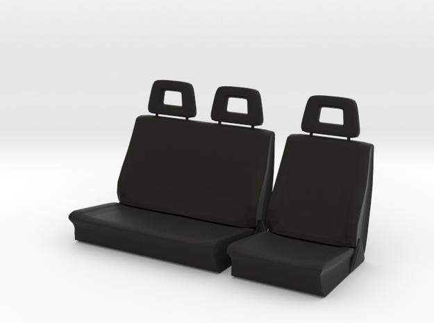 Sitze vorne in Black Natural Versatile Plastic