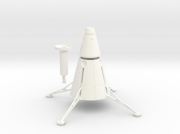1/144 NOVA DIRECT ASCENT LUNAR LANDER - DEPLOYED 3d printed Assembled Model