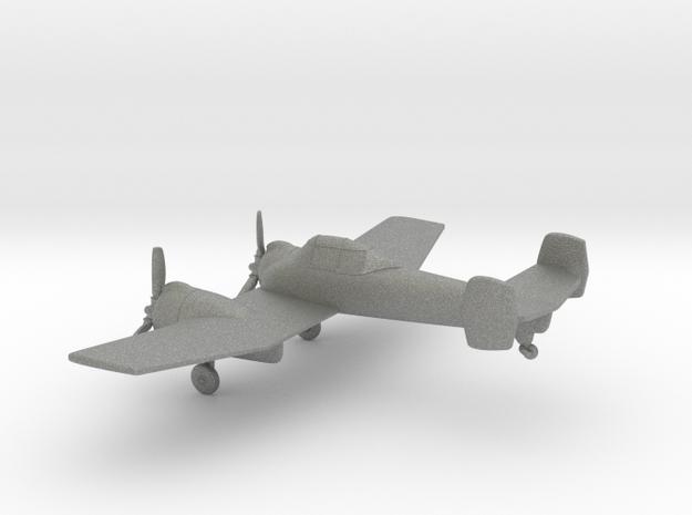 Grumman XF5F Skyrocket in Gray PA12: 1:144