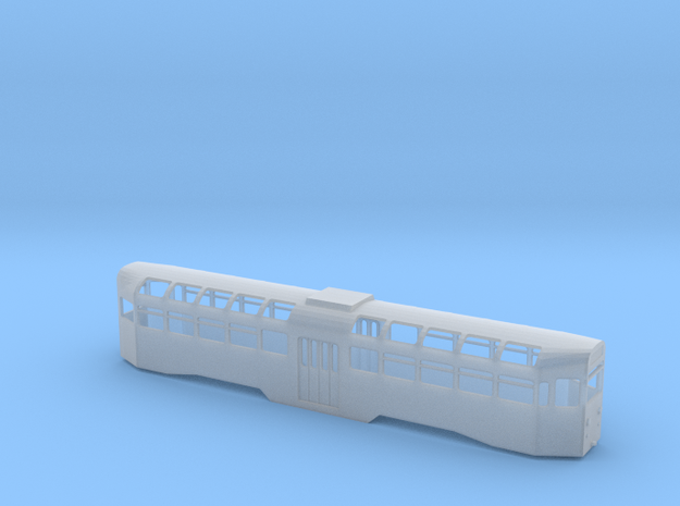 Blackpool Railcoach 618 N Gauge in Smooth Fine Detail Plastic