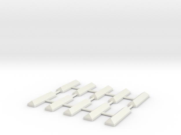 Vrijbalk    HO in White Natural Versatile Plastic