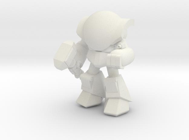 MOG-07 Haiho (Pose A) in White Natural Versatile Plastic
