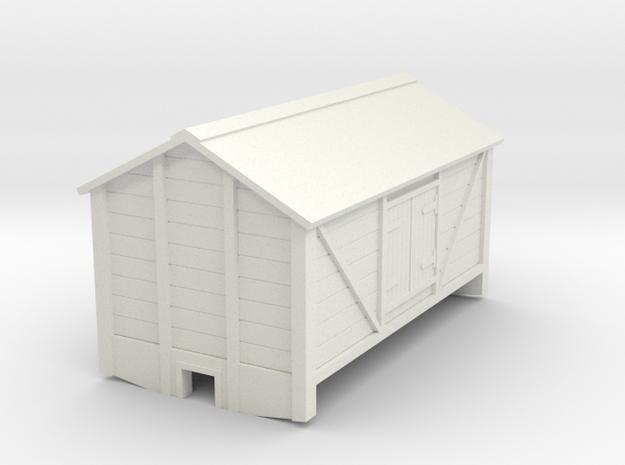 009 2 axle salt wagon in White Natural Versatile Plastic