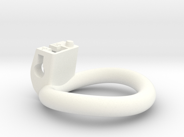 Cherry Keeper Ring - 36mm -6° in White Processed Versatile Plastic