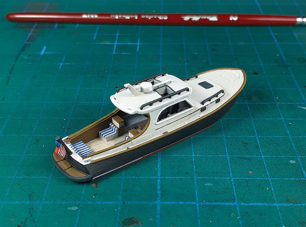 Yacht Ver01. 1:160 Scale