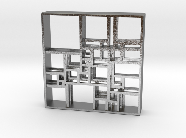 SPSS Isomer Quadruple 33-476 (version 2) in Natural Silver