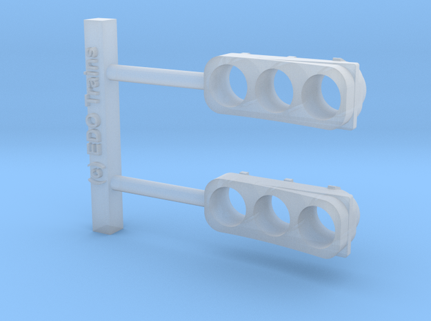 Amtrak RTG Turboliner Headlight (pair, fits Jouef) in Smoothest Fine Detail Plastic