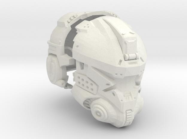 1:6 Scale Sci-Fi Pilot Helmet