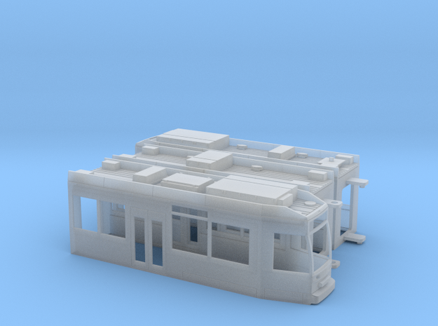 Brandenburg MGT6D in Smooth Fine Detail Plastic: 1:120 - TT