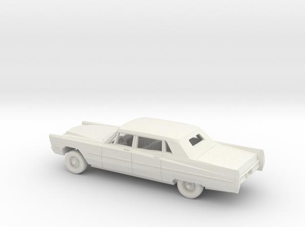 1/72 1967 Cadillac Brougham Limo in White Natural Versatile Plastic