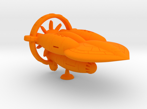 Morrigan Class Heavy Battler - 1:20000 in Orange Processed Versatile Plastic