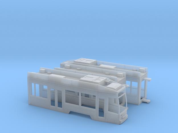 Leipzig NGT8 in Smooth Fine Detail Plastic: 1:120 - TT