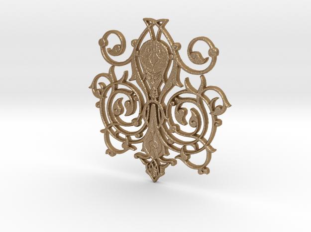 Swirl Pendant 3d printed