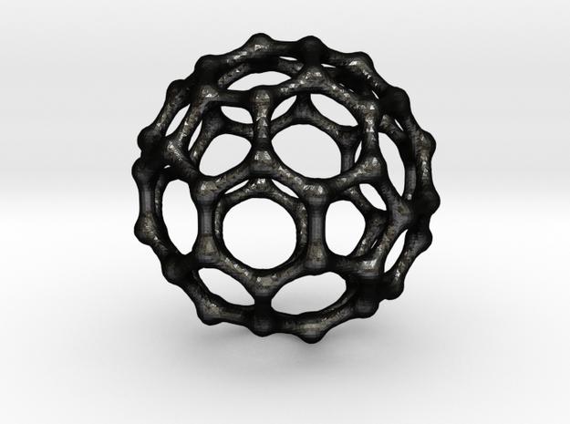 Buckyball C60 Pendant 3d printed