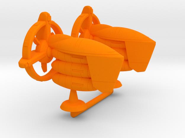 Audhumbla Class Fleet Transport - 1:20000 in Orange Processed Versatile Plastic