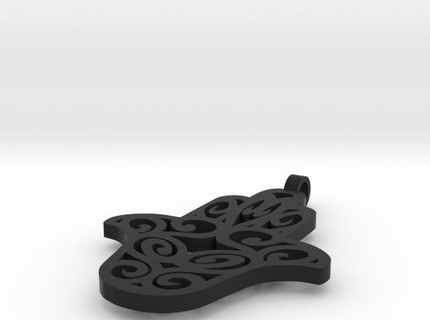 Hamsa Pendant  3d printed
