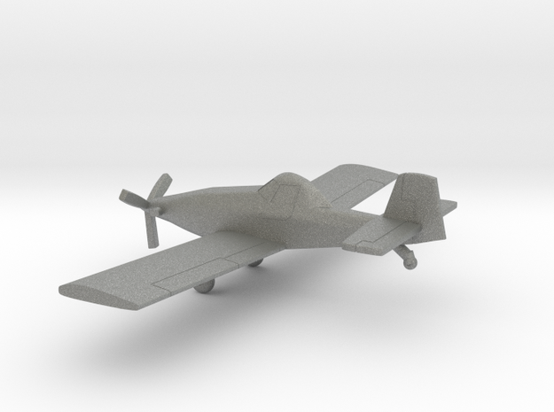 Rockwell S-2R Thrush Commander in Gray PA12: 1:160 - N
