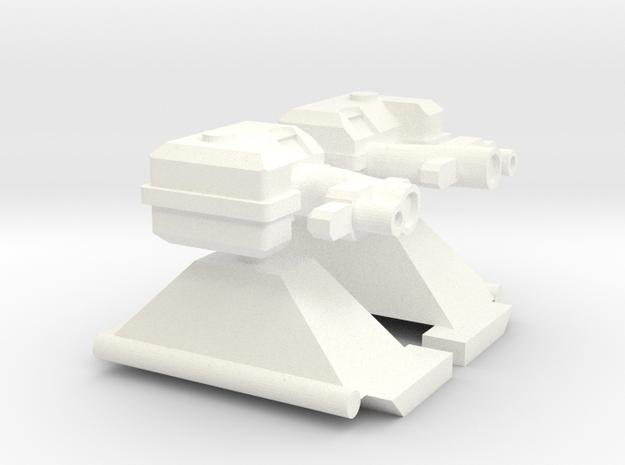 Frontwerfer für ein TLF 1:87 in White Processed Versatile Plastic