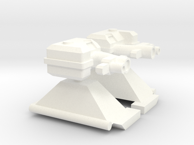 Frontwerfer für ein TLF 1:87 in White Strong & Flexible Polished
