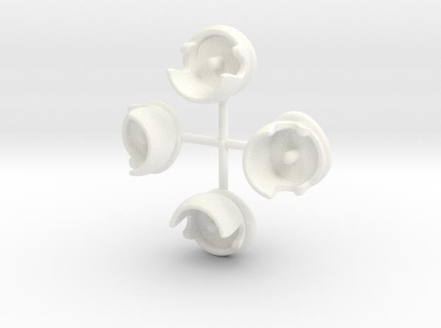 beretwhairx4 in White Processed Versatile Plastic