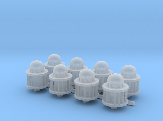 1/285 Scale Generic Capital Dome x8