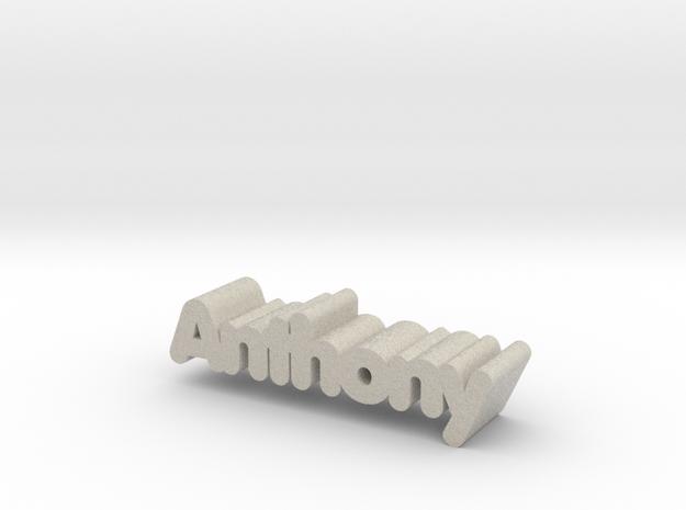Anthony in Natural Sandstone