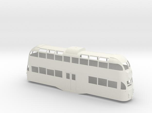 Blackpool Balloon Tram Arch & R Windows - 7mm in White Natural Versatile Plastic