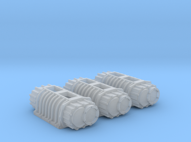 BDS 10-71 blower x3 1/25 in Smooth Fine Detail Plastic