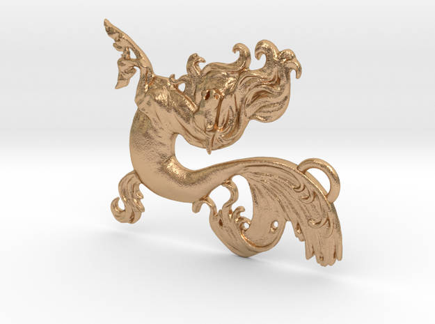 TAKESHI CHARM in Natural Bronze