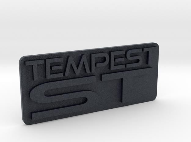 Tempest ST dash emblem in Black PA12