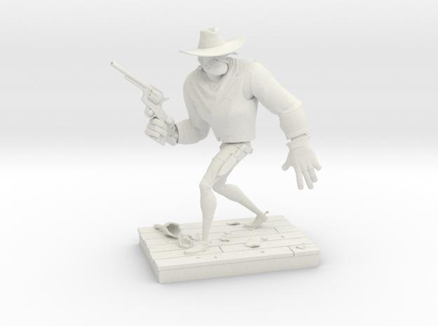 TheGunfighter (Medium) in White Natural Versatile Plastic