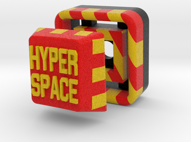 Full Color Hyperspace Button