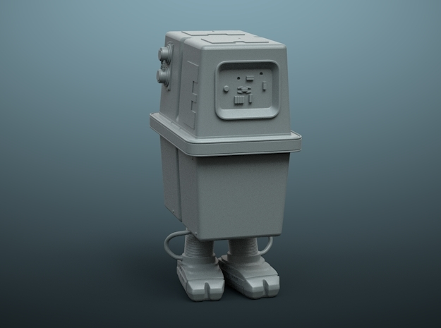 """Gonk"" Power droid De Agostini MF 1/43 in Smoothest Fine Detail Plastic"