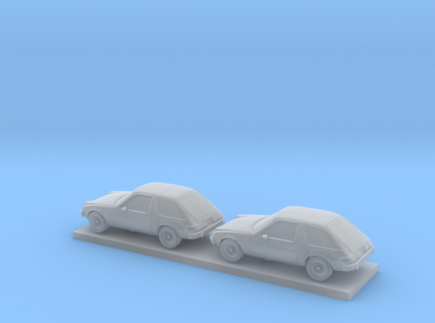 1/220 2X 1975-77 AMC Pacer in Smooth Fine Detail Plastic