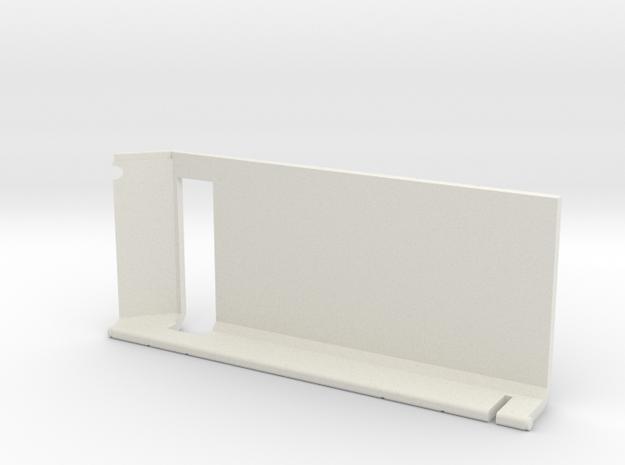 Starcom - Skyroller - right door in White Natural Versatile Plastic