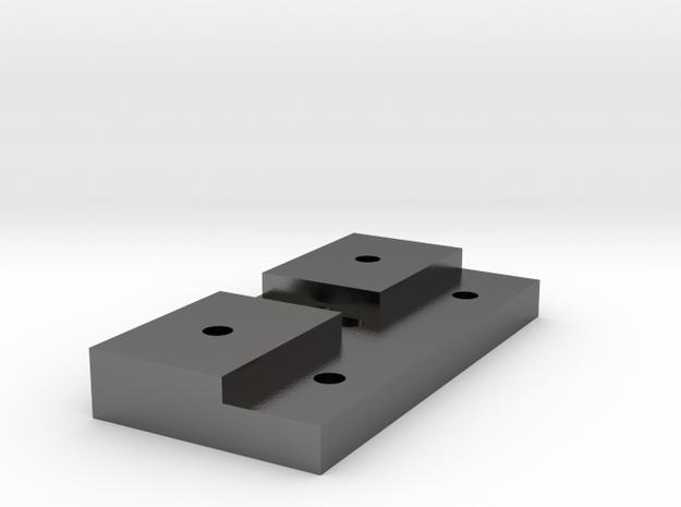 key-base in Polished Nickel Steel
