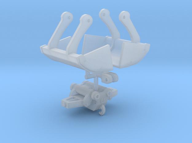 Dichte knijpbak voor aan autolaadkraan 1:50 in Smooth Fine Detail Plastic