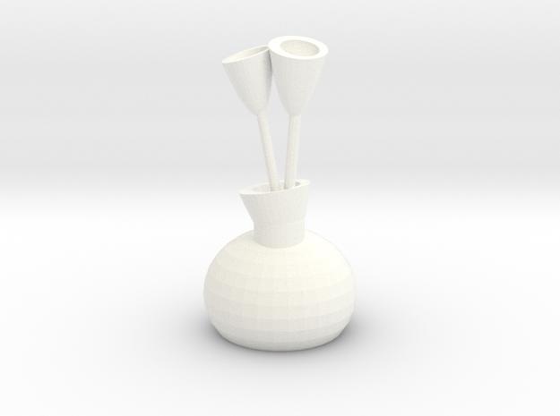 Vase Of Tulips 3d printed
